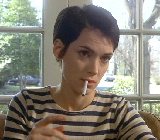 "Winona Rider în ""Girl, Interrupted"""